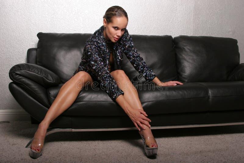 черная шикарная женщина стоковые фото