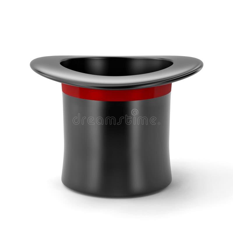 черная шляпа стоковая фотография rf