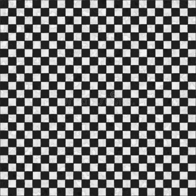черная checkered безшовная белизна текстуры стоковые изображения