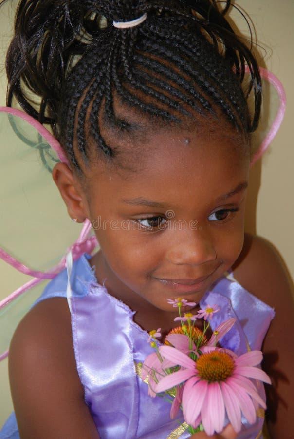 черная fairy помадка стоковая фотография