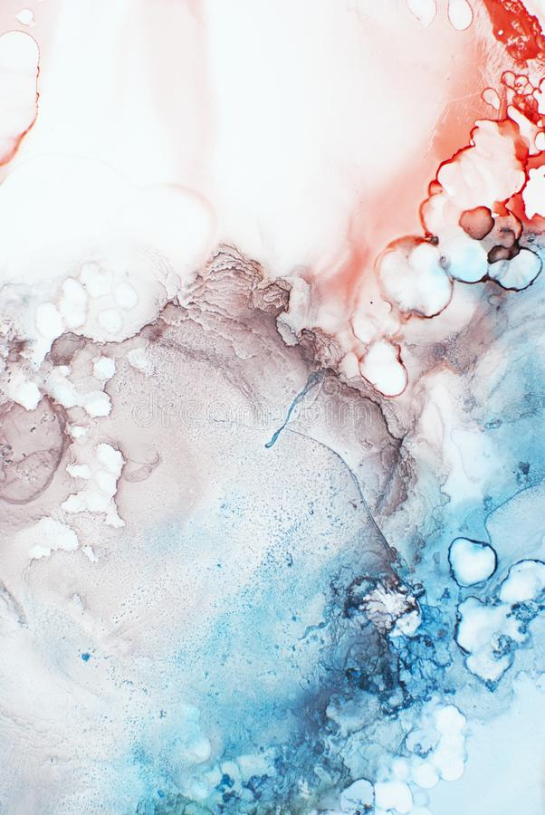 Чернила, краска, абстрактная стоковая фотография