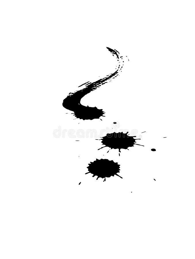 чернила иллюстрация вектора