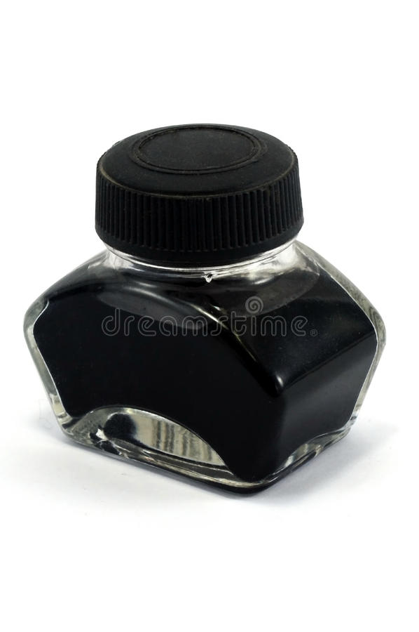 чернила бутылки стоковое изображение