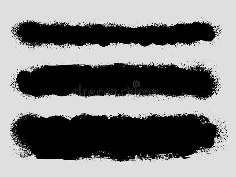 Чернила Grunge splattered текстуры предпосылки иллюстрация штока
