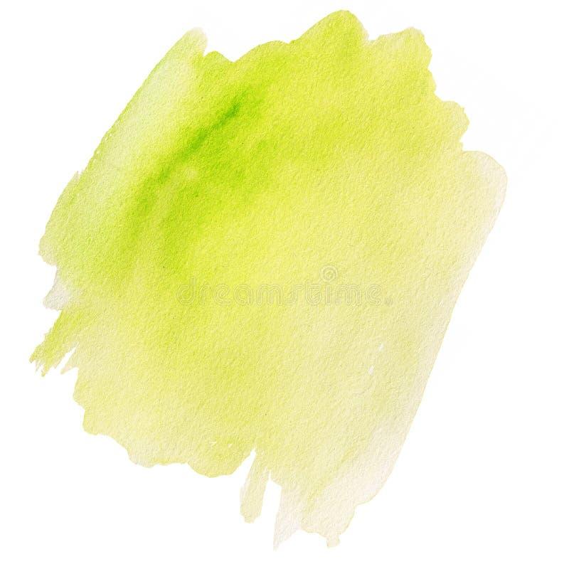 Чернила Watercolour абстрактной покрашенные рукой текстурированные влажные иллюстрация штока