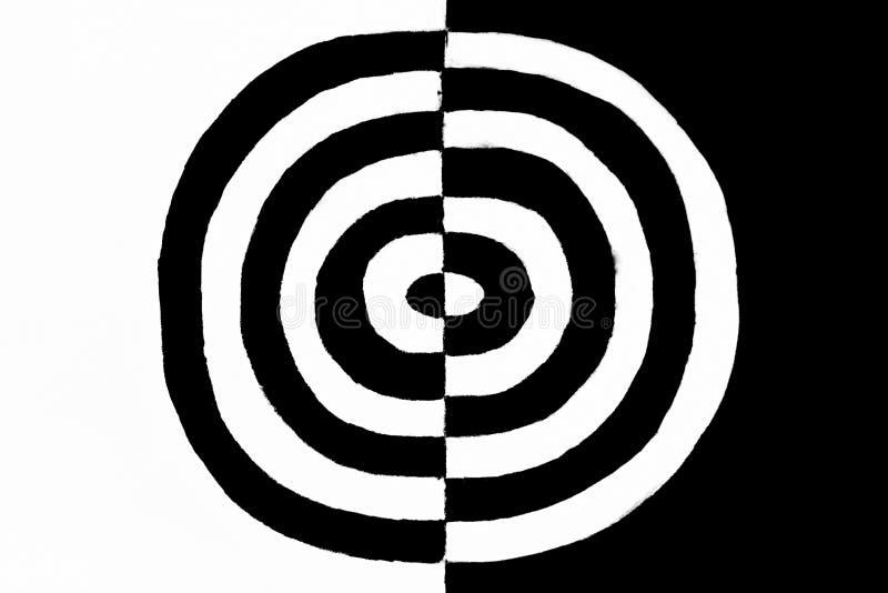 черное изображение принципиальной схемы 3d представило белизну стоковые изображения