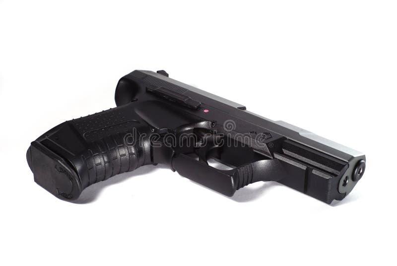 черное личное огнестрельное оружие стоковые изображения rf