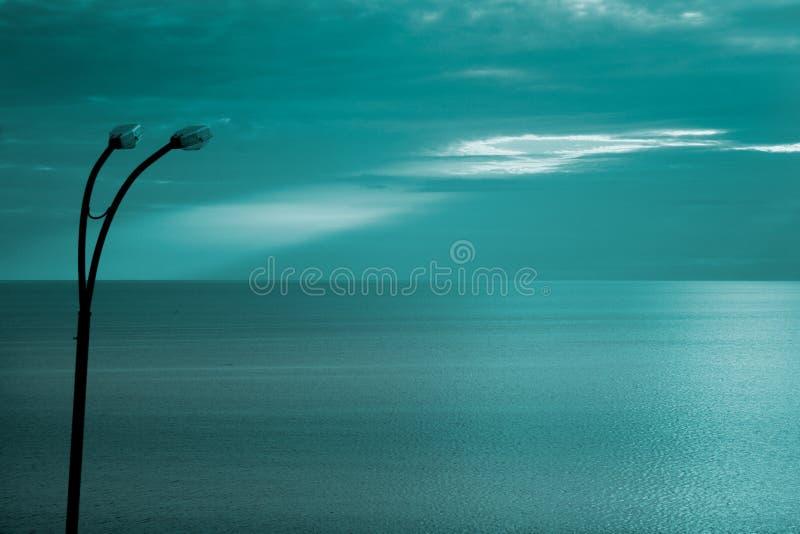 черное море calo стоковые фотографии rf