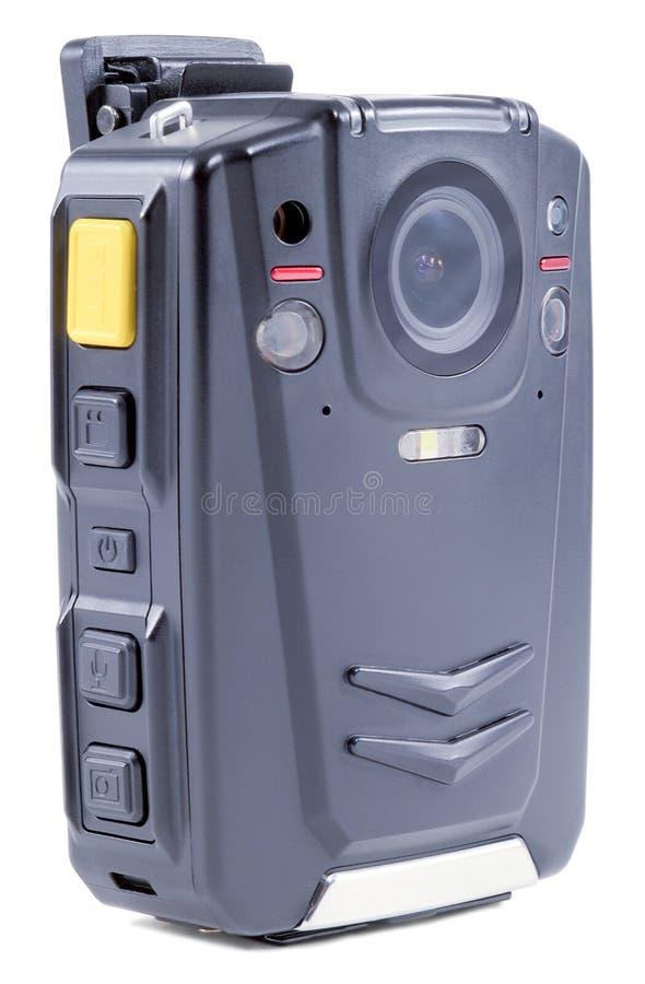 Черное пластичное тело камеры стоковое изображение