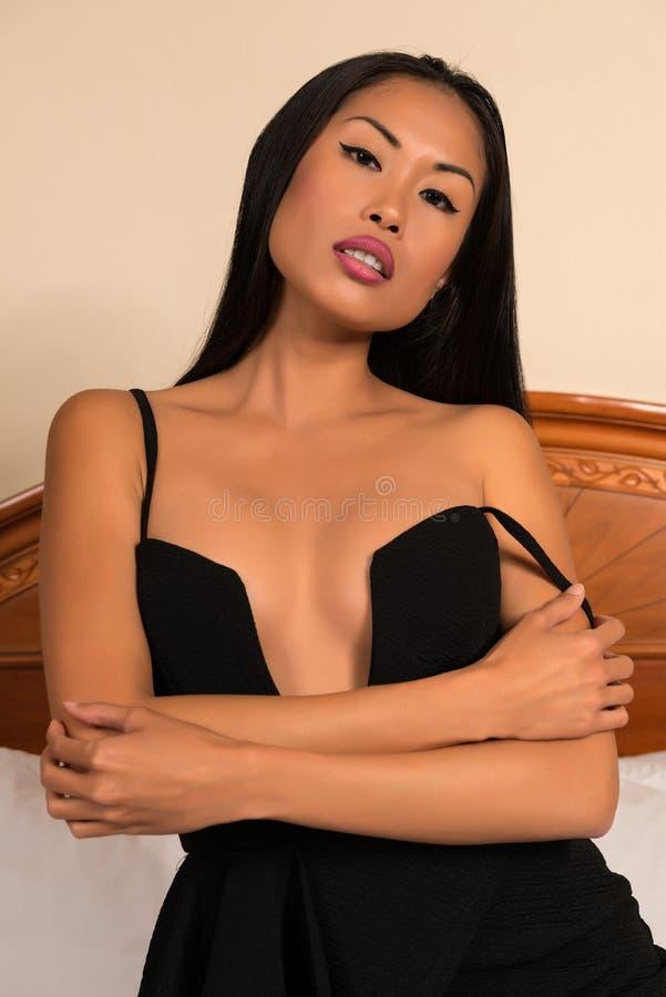 черное платье немногая стоковые изображения