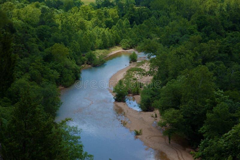 черное река стоковые изображения rf