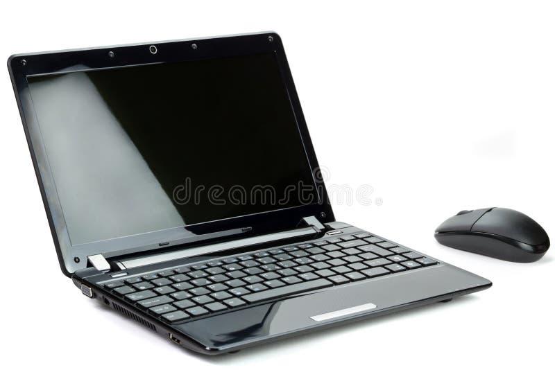 черное Netbook Стоковые Фото