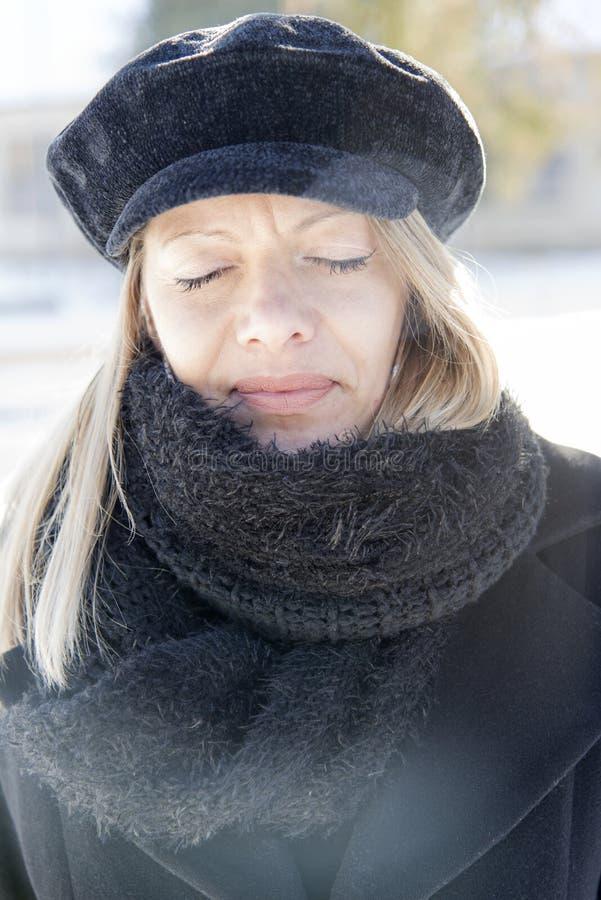 чернокожая женщина стоковая фотография rf