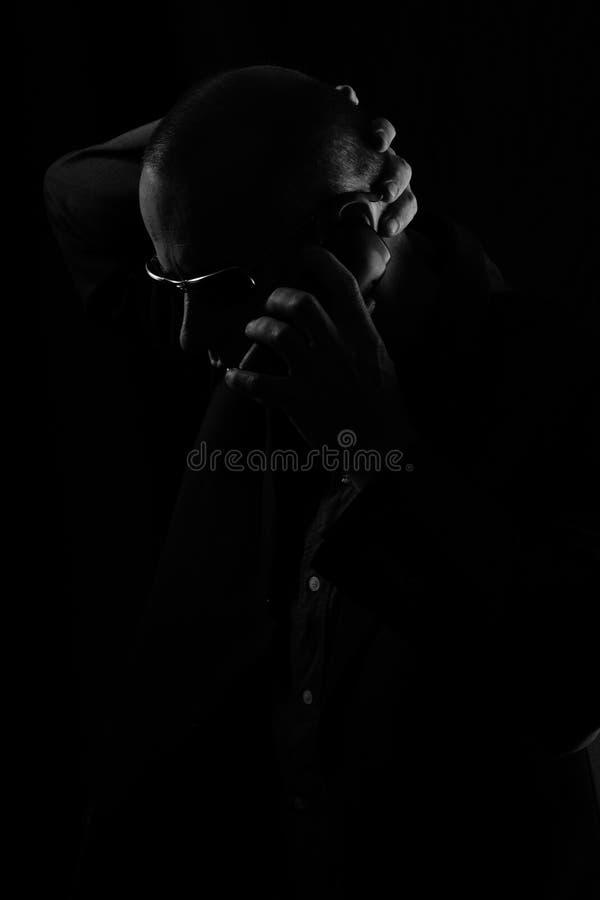 чернокожий человек стоковая фотография