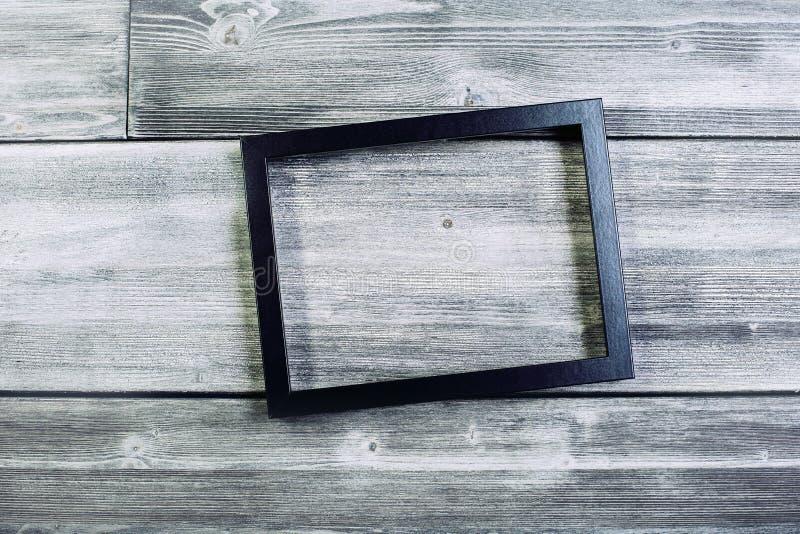 Чернота видеть-через рамку стоковая фотография rf