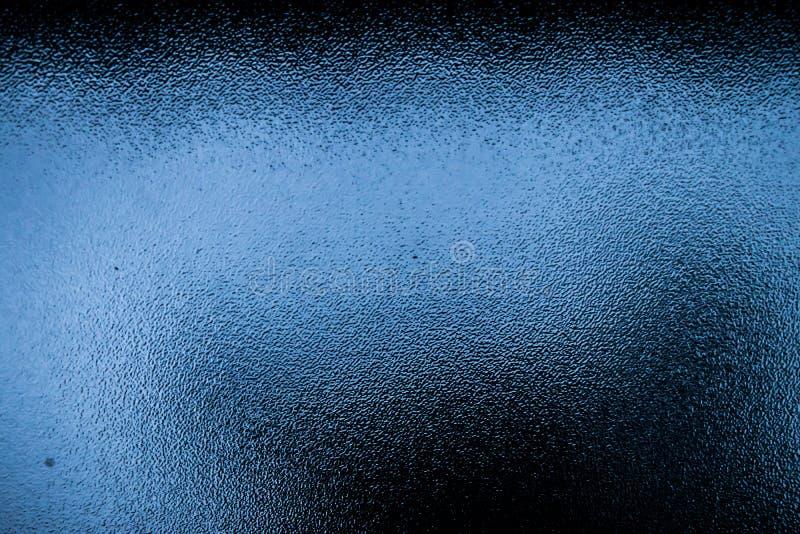 Чернота и текстура синего стекла стоковые изображения rf