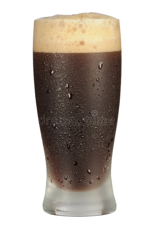 чернота пива стоковые фотографии rf