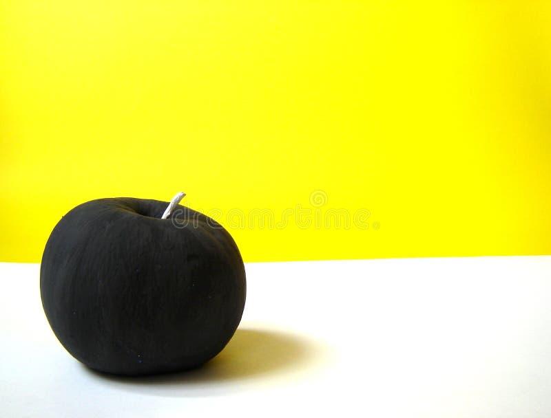 чернота яблока стоковая фотография