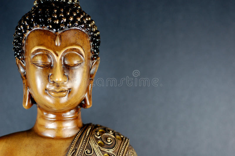 Чернота 5 Будды стоковые изображения