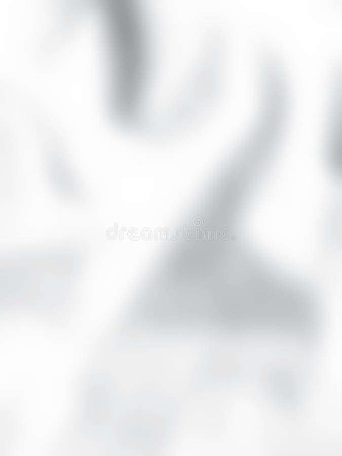 Черно-белая предпосылка нерезкости Подкрашиванный штраф светлым - серая поверхность Серый цвет и белизна бесплатная иллюстрация