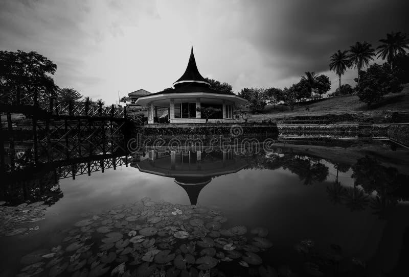 Черно-белые фото longexposure стоковые фотографии rf