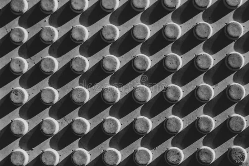Черно-белый барьер текстуры изображения стоковые изображения