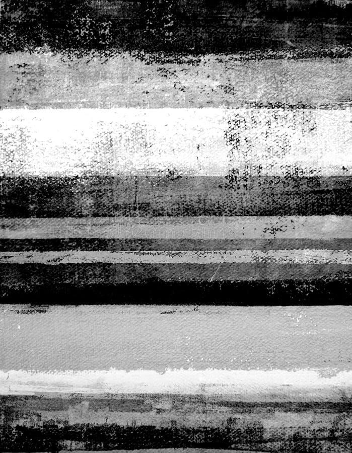 Черно-белая картина абстрактного искусства стоковые фотографии rf