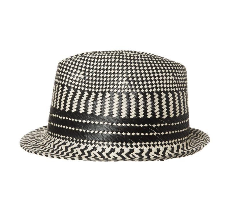 Черно-белая шляпа стоковые фотографии rf