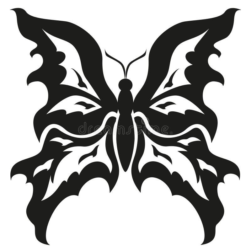 картинки чёрно белые бабочек