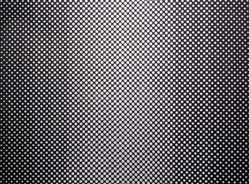 Черно-белый градиент от хлопка стоковое изображение
