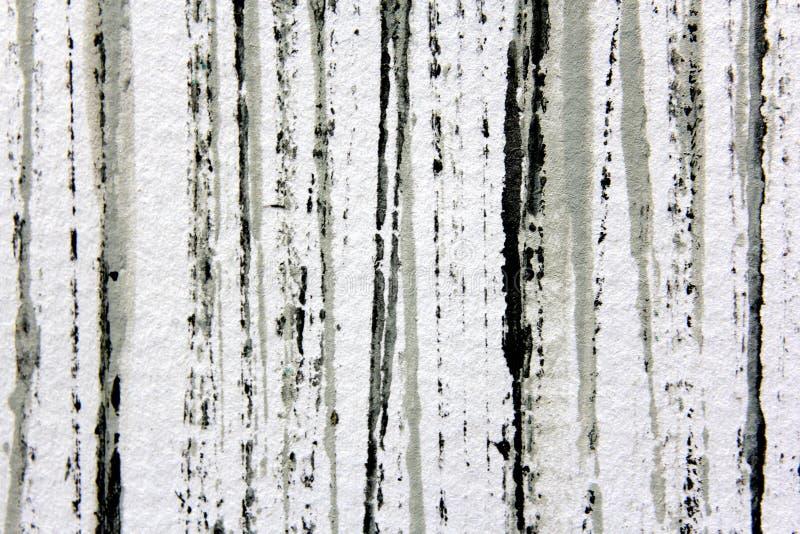 Черные белые и серые нашивки 1 Watercolour стоковые фотографии rf