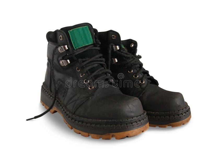 черные ботинки стоковые изображения