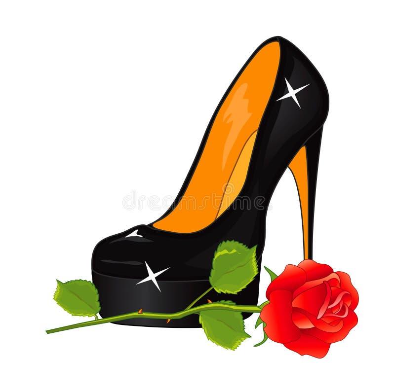 черные ботинки бесплатная иллюстрация