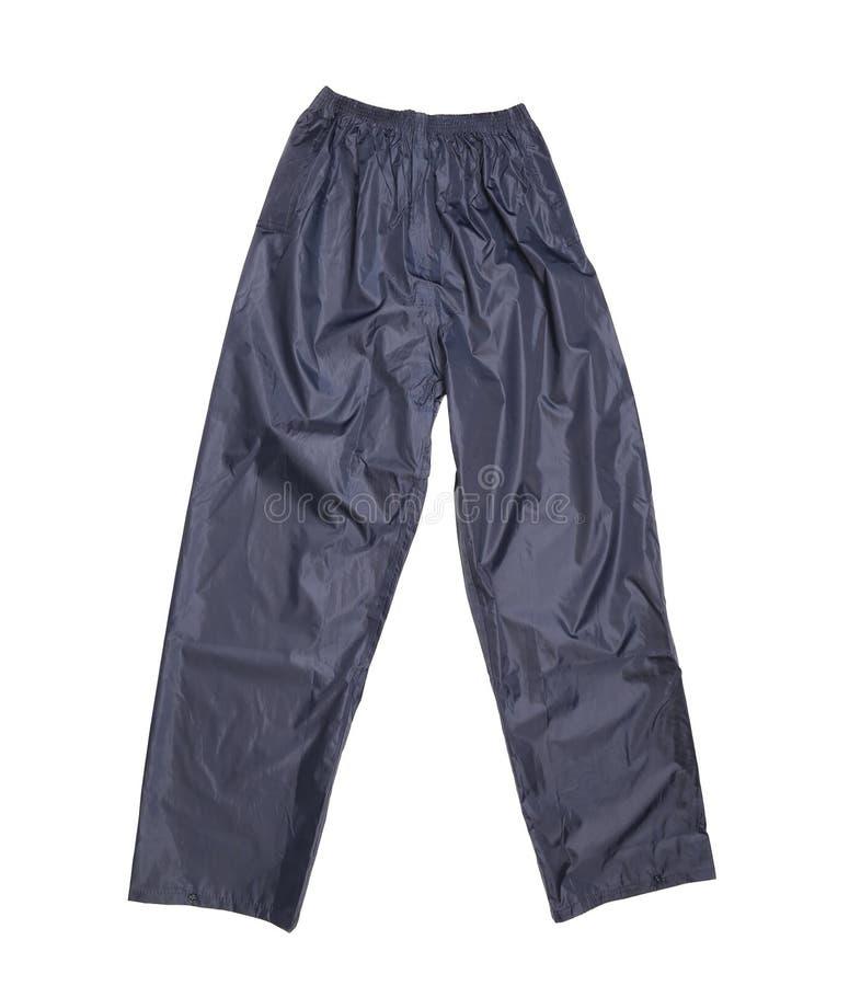 Черные брюки. Вид спереди стоковые фото