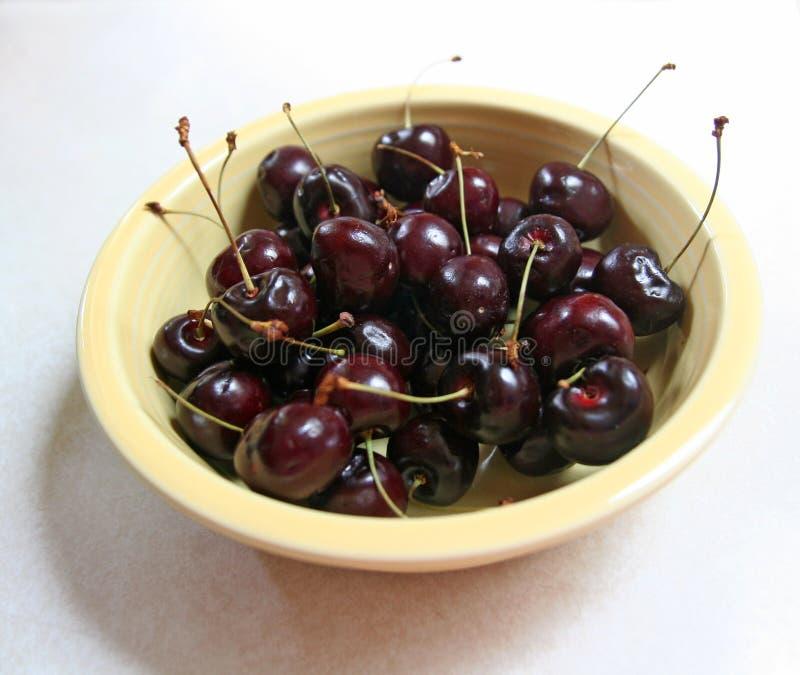 черные вишни шара стоковое изображение