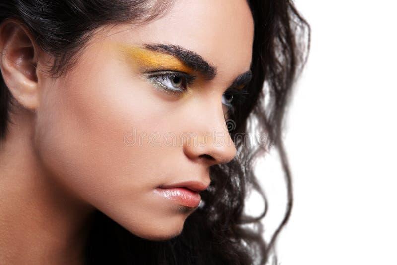 черные волосы стоковое фото rf