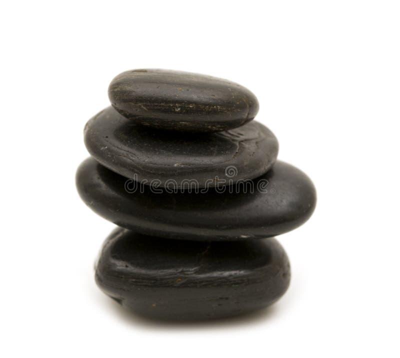 Download черные камни стоковое изображение. изображение насчитывающей экземпляр - 6861875