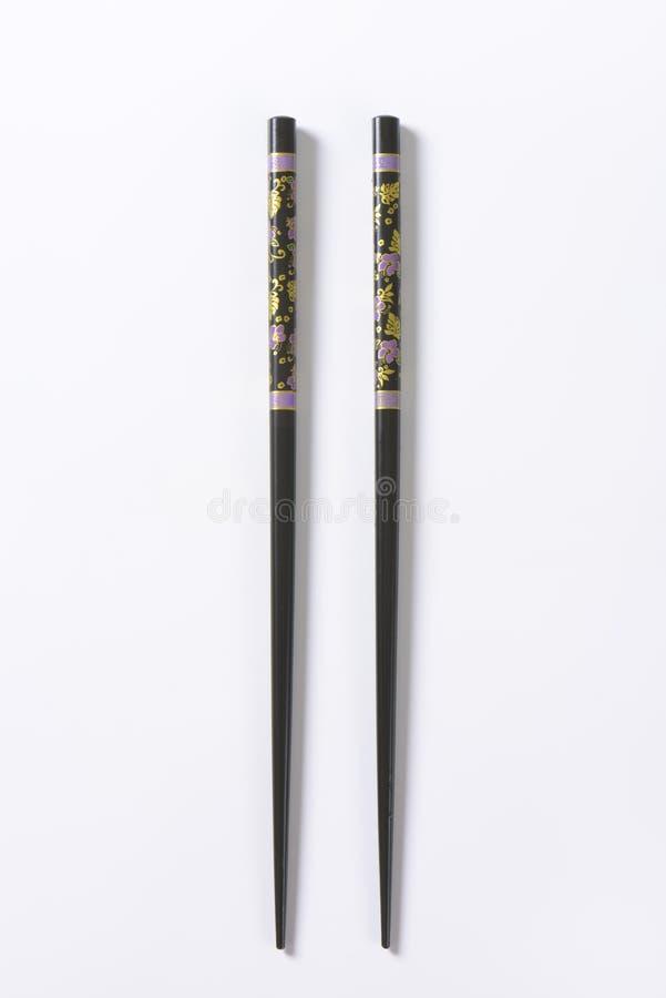 черные палочки стоковые изображения rf