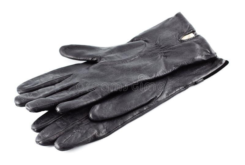 черные перчатки стоковая фотография