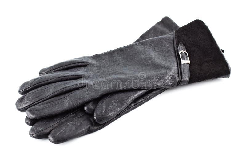 черные перчатки стоковая фотография rf
