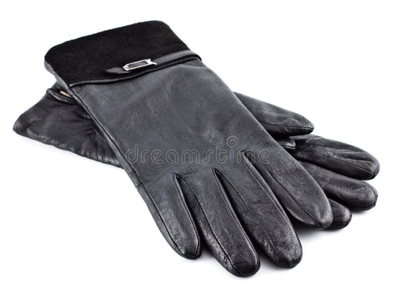 черные перчатки стоковое фото rf