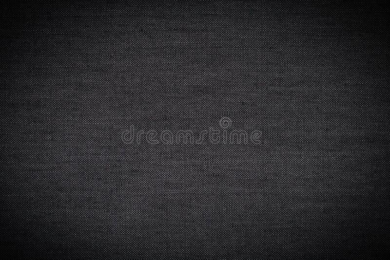 Черные предпосылка текстуры ткани/текстура ткани черноты/текстура ткани черноты шелка как предпосылка стоковая фотография rf