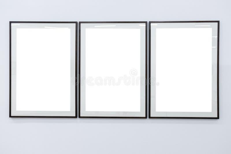 Черные рамки на белой предпосылке стоковое фото rf