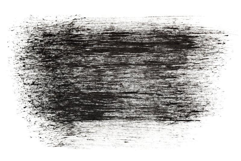 Черные ходы чернил grunge бесплатная иллюстрация