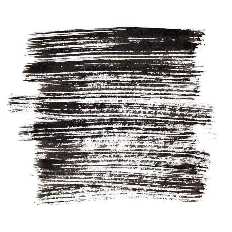 черные ходы щетки иллюстрация штока