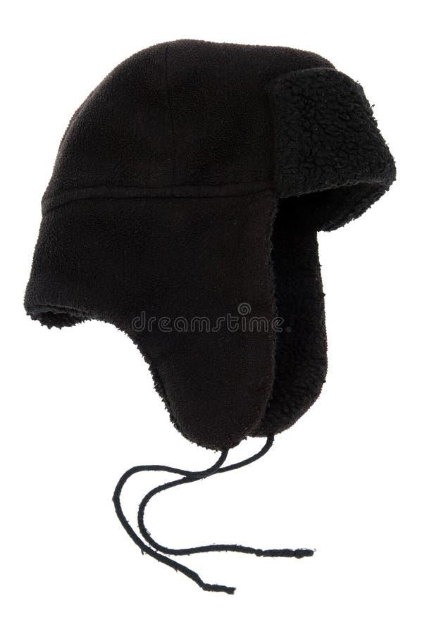 черные щитки уха крышки стоковые фото