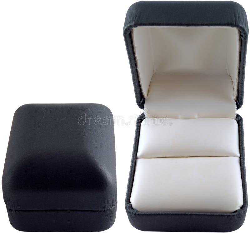 черные ящики опорожняют кольцо стоковые изображения