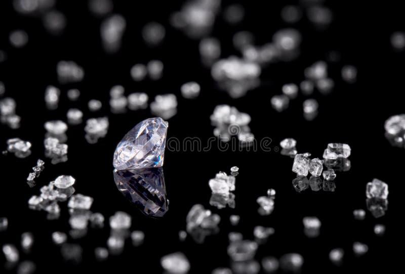 черный алмаз предпосылки стоковое фото rf