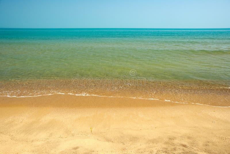 черный берег моря Болгарии стоковое изображение