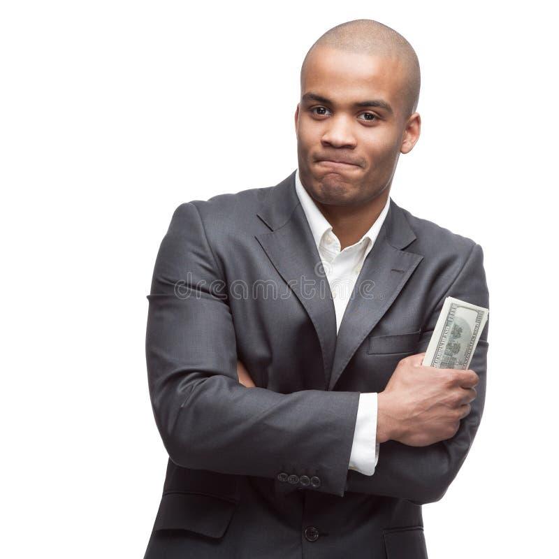 Download черный бизнесмен стоковое изображение. изображение насчитывающей люди - 41651905